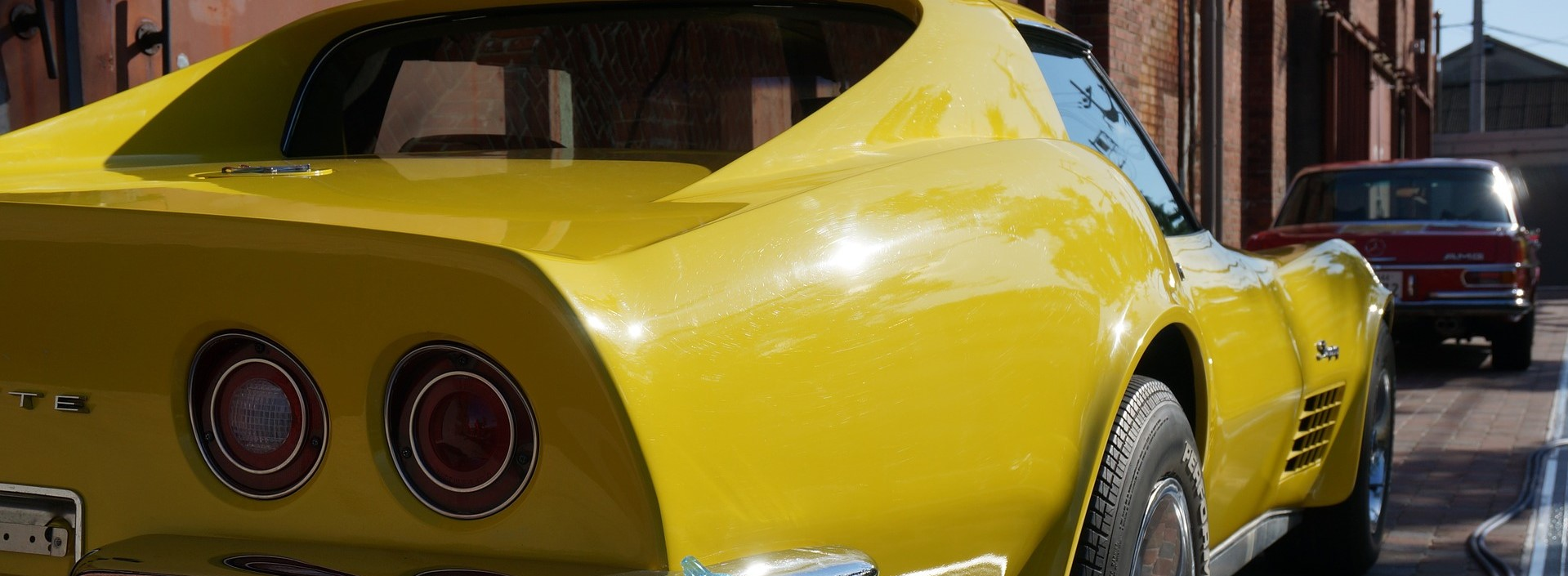 Yellow Vintage Car in Grand Prairie, Texas | Breast Cancer Car Donations