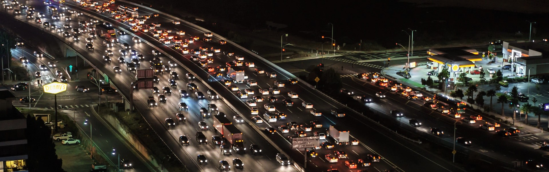 Highway Traffic in Bay Area | Breast Cancer Car Donations