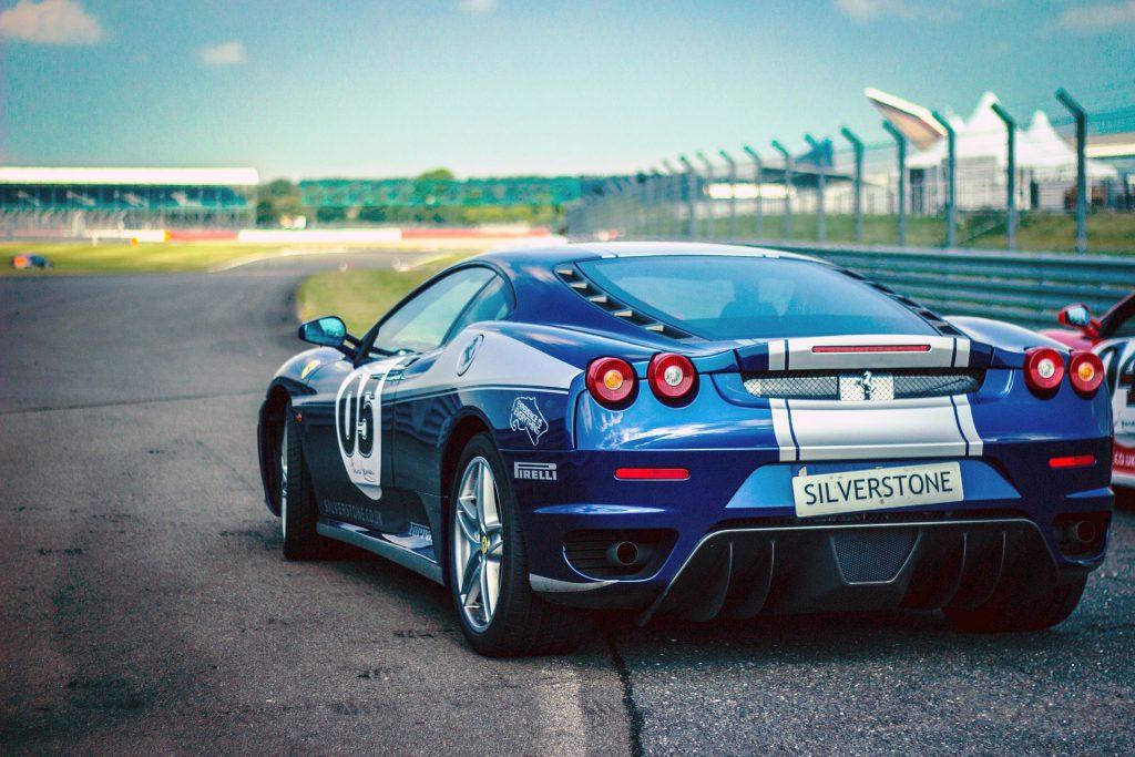 Blue Ferrari | Breast Cancer Car Donations
