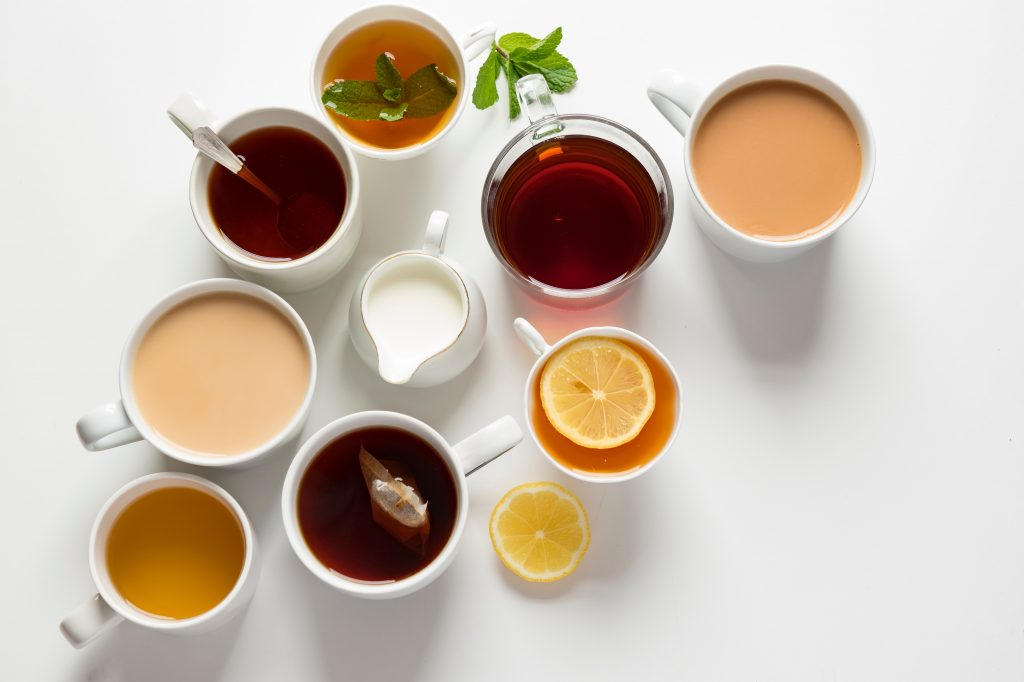 Different Types of Tea | Breast Cancer Car Donations
