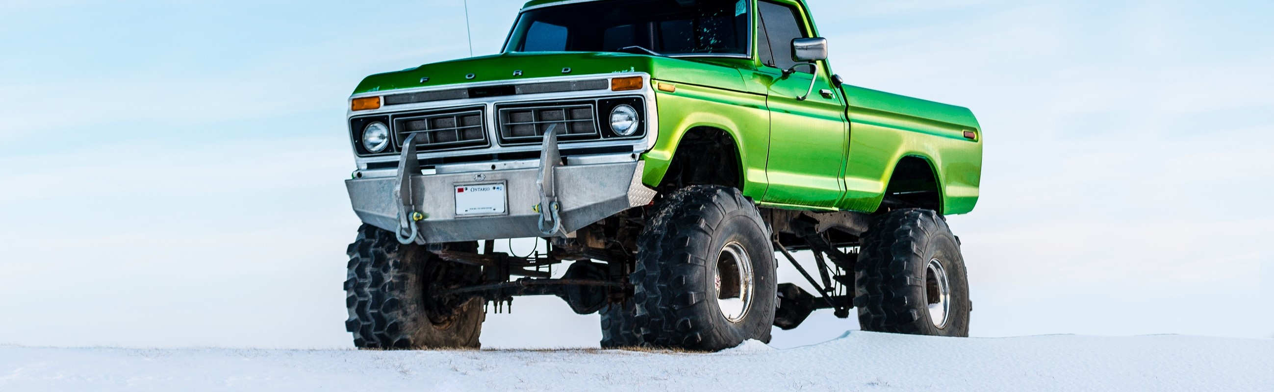 Green Monster Truck   Breast Cancer Car Donations