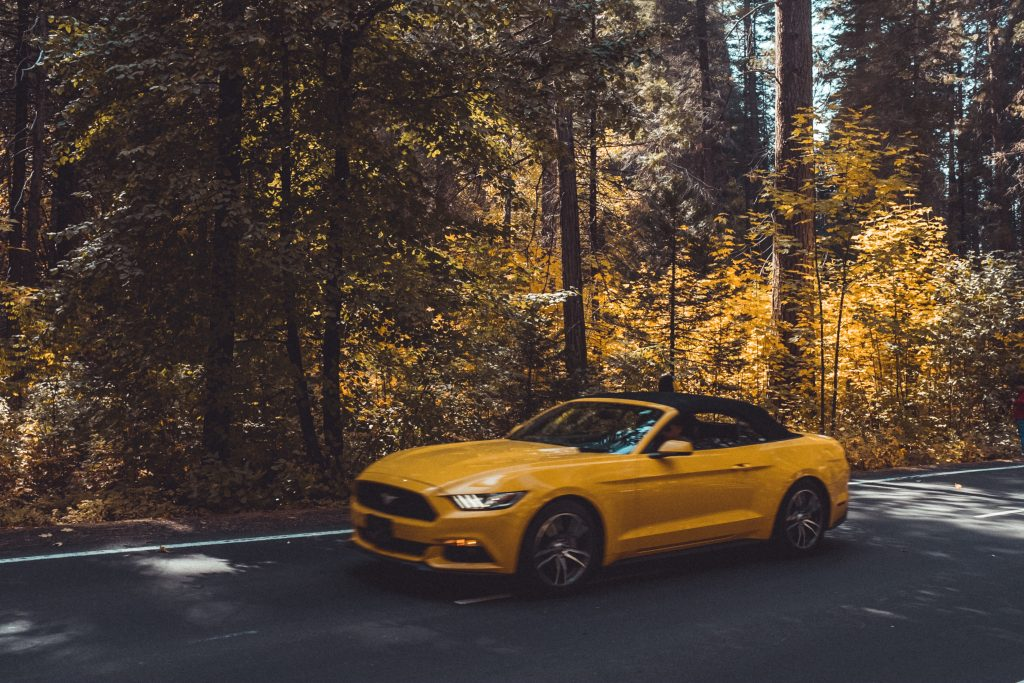 New Yellow Convertible Mustang | Breast Cancer Car Donations