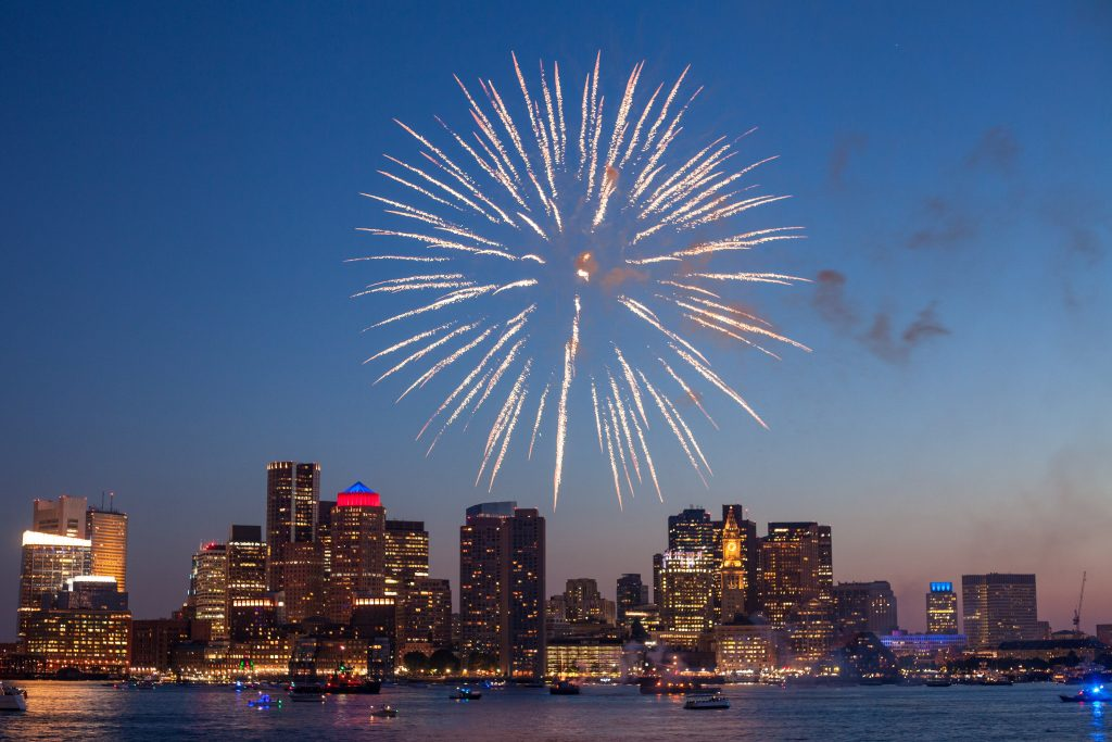New Year's Fireworks in Boston | Breast Cancer Car Donations