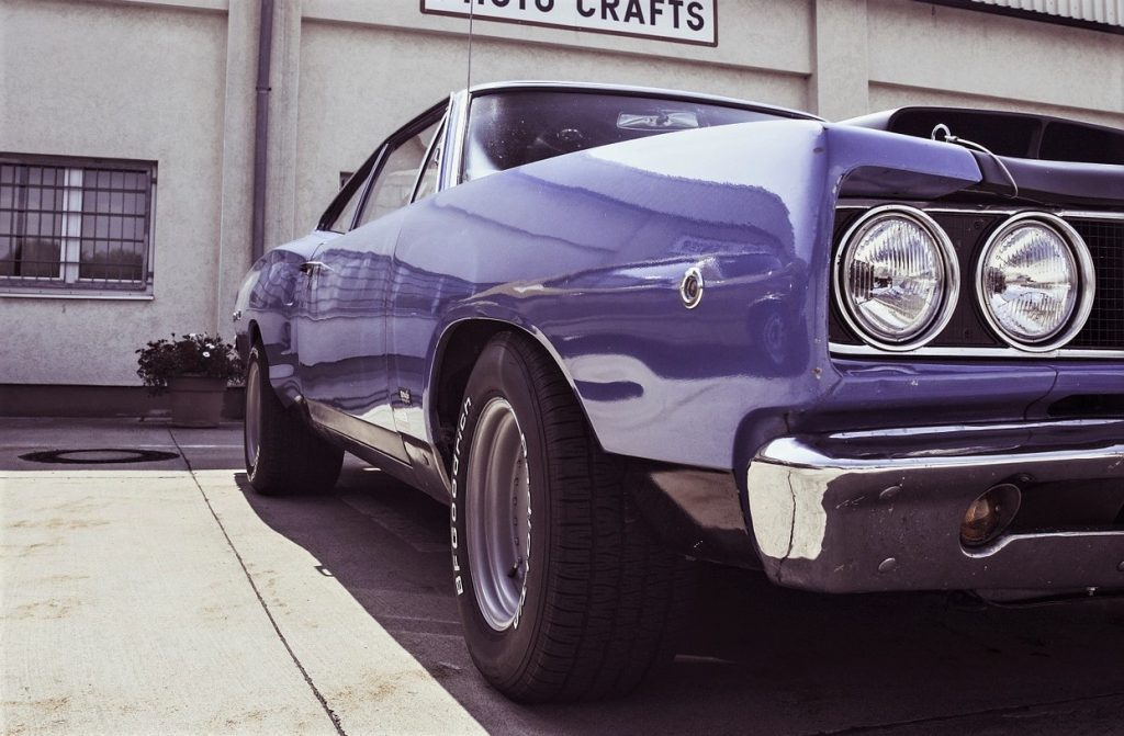 Oldtimer Classic Muscle Car | Breast Cancer Car Donations