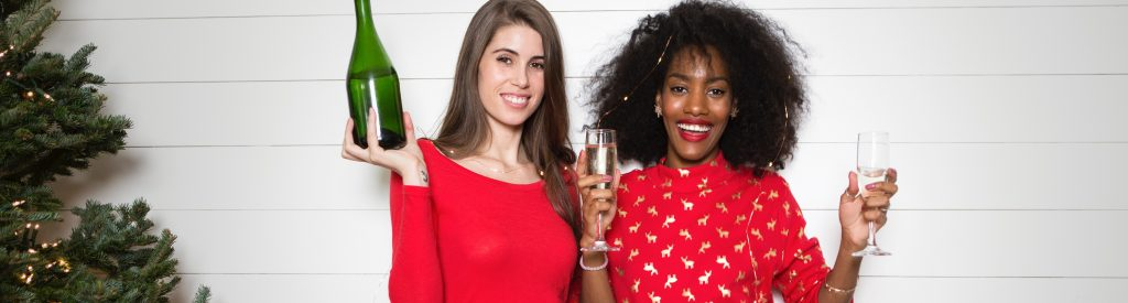 Women with Champagne Bottle | Breast Cancer Car Donations