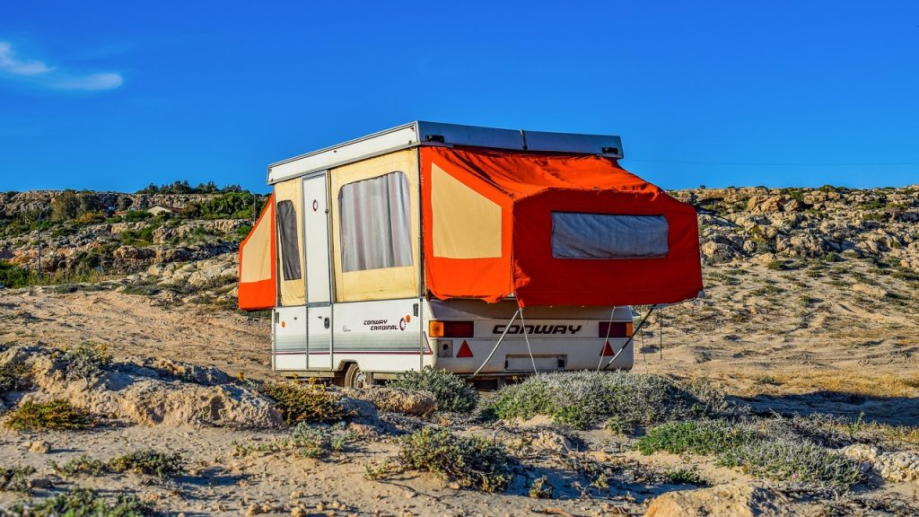 Camper Trailer Outdoors | Breast Cancer Car Donations
