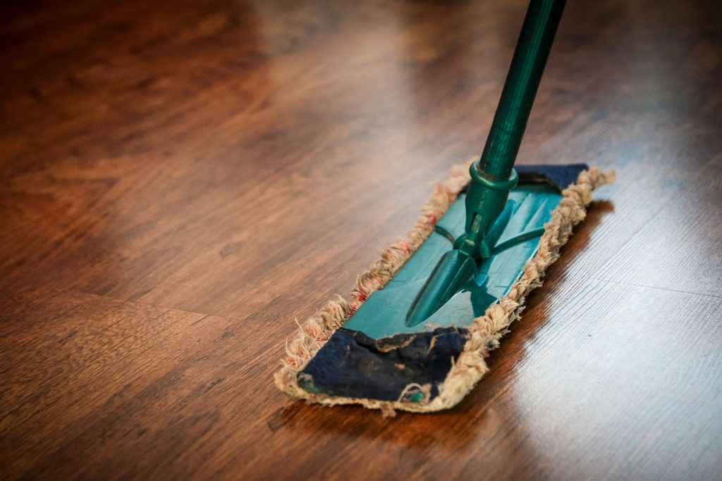 Floor Cleaning with a Mop | Breast Cancer Car Donations