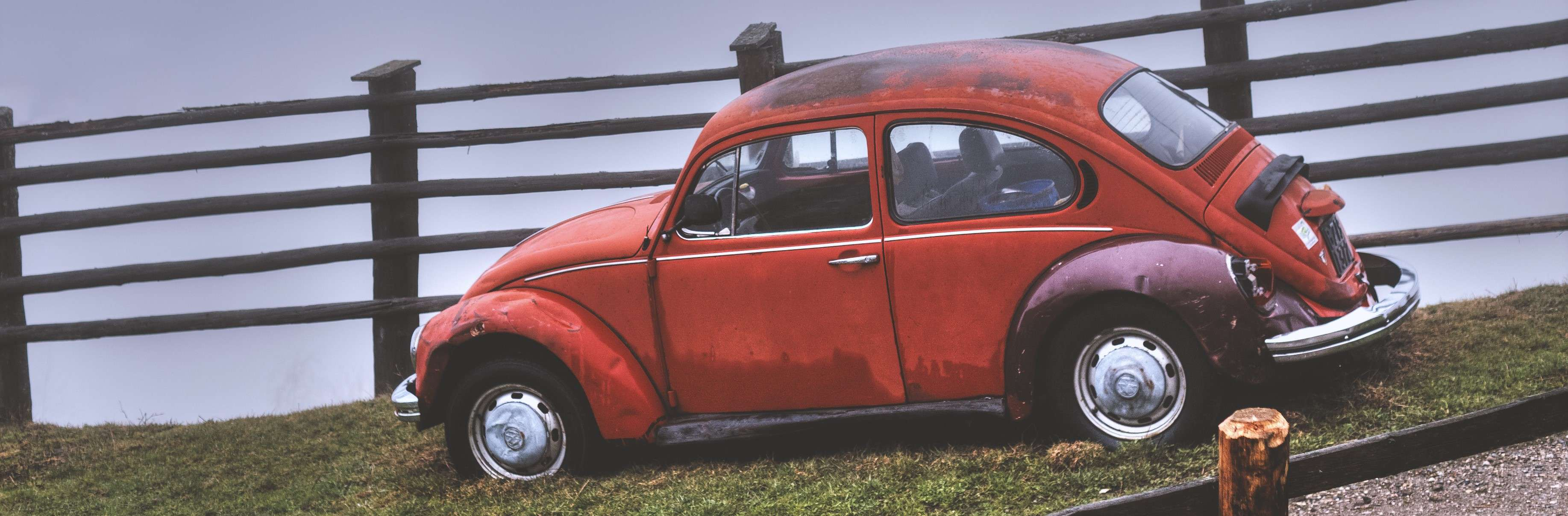 Red Oldtimer Beetle | Breast Cancer Car Donations