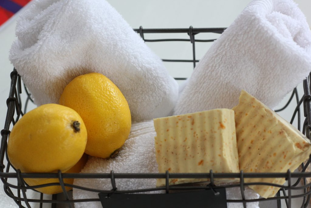 Towels, Lemons, and Skin Care Products | Breast Cancer Car Donations