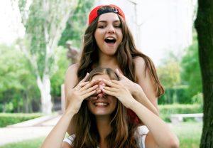 Girls Enjoying Friendship | Breast Cancer Car Donations