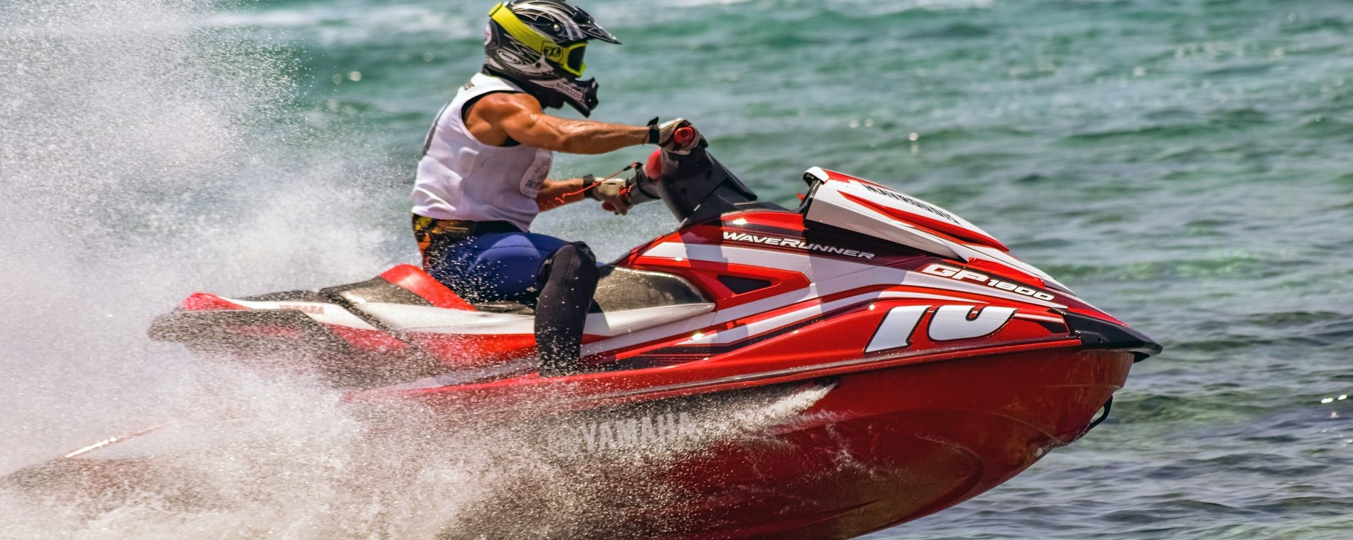 Jet Ski Speed Action | Breast Cancer Car Donations