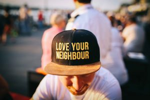 Love Your Neighbor Hat | Breast Cancer Car Donations