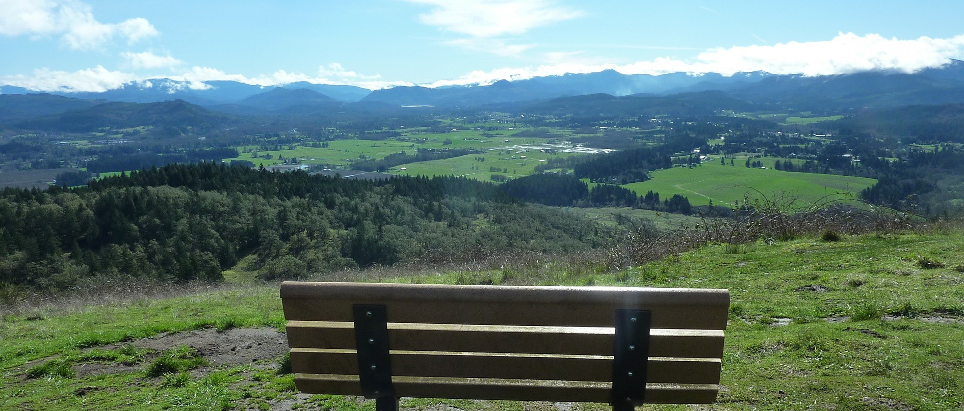 View From Mt. Pisgah in Eugene, Oregon | Breast Cancer Car Donations