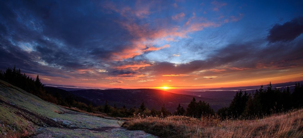 Beautiful Sunset in Maine | Breast Cancer Car Donations