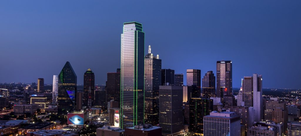 Downtown Dallas Skyline | Breast Cancer Car Donations