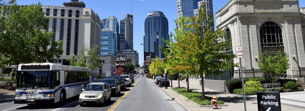 Downtown Nashville | Breast Cancer Car Donations