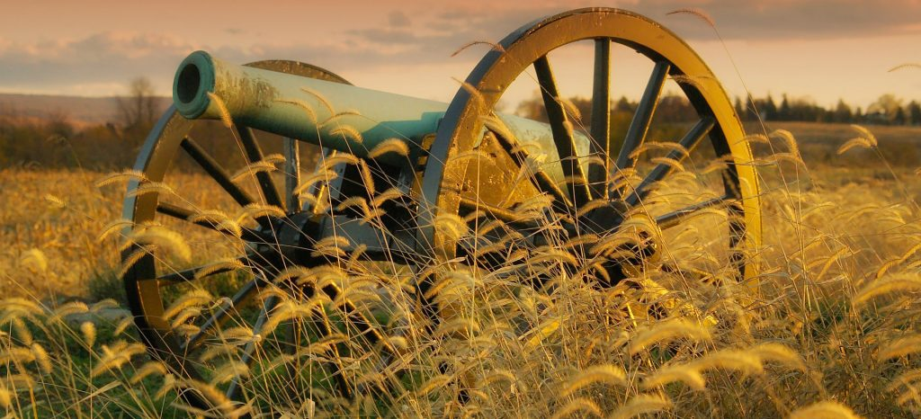 Historic Antietam Cannon in Maryland | Breast Cancer Car Donations