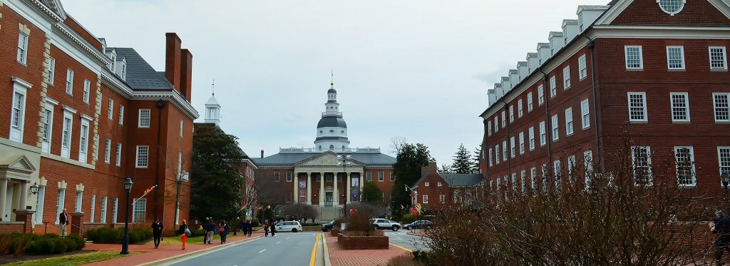 Old Architecture Buildings in Annapolis Maryland | Breast Cancer Car Donations