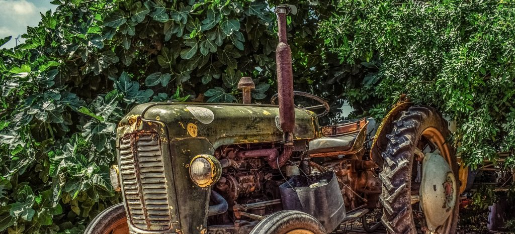 Old Tractor in Vermont | Breast Cancer Car Donations