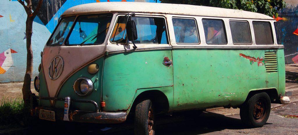 Old Van in Pennsylvania | Breast Cancer Car Donations
