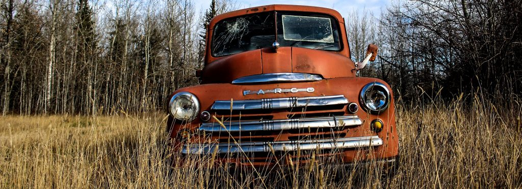 Oldtimer Fargo Truck in El Paso, Texas | Breast Cancer Car Donations