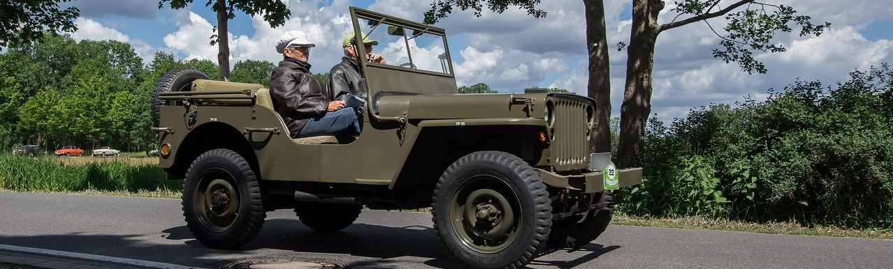 Oldtimer Jeep in Fayetteville, North Carolina | Breast Cancer Car Donations