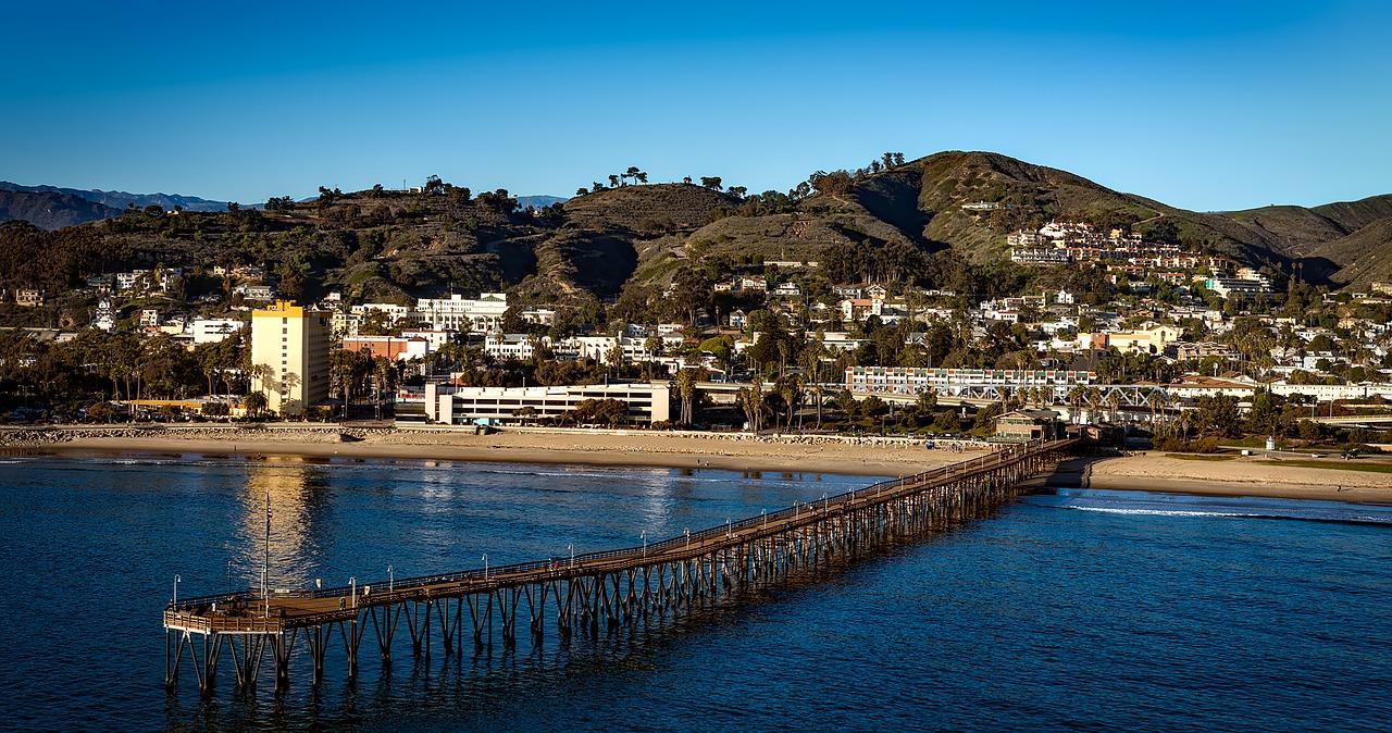 Oxnard, California Beach   Breast Cancer Car Donations