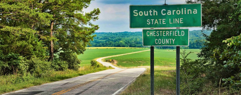 South Carolina State Border Signage | Breast Cancer Car Donations