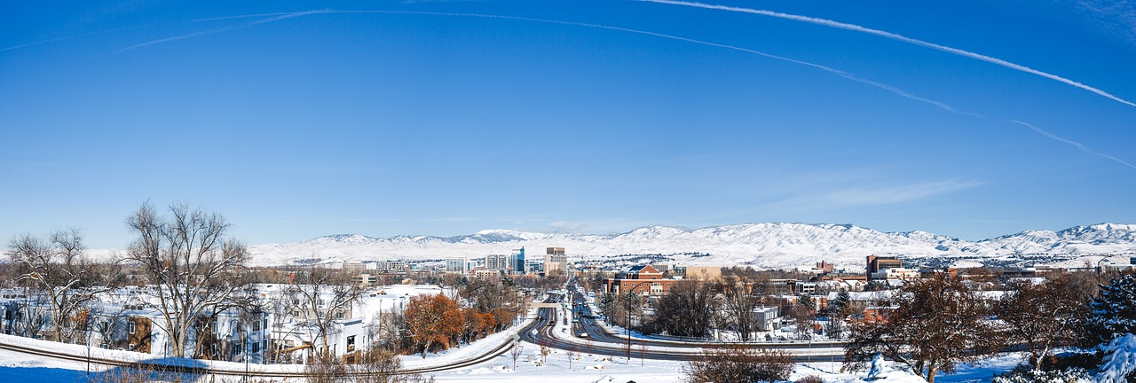 Boise, Idaho Panorama | Breast Cancer Car Donations