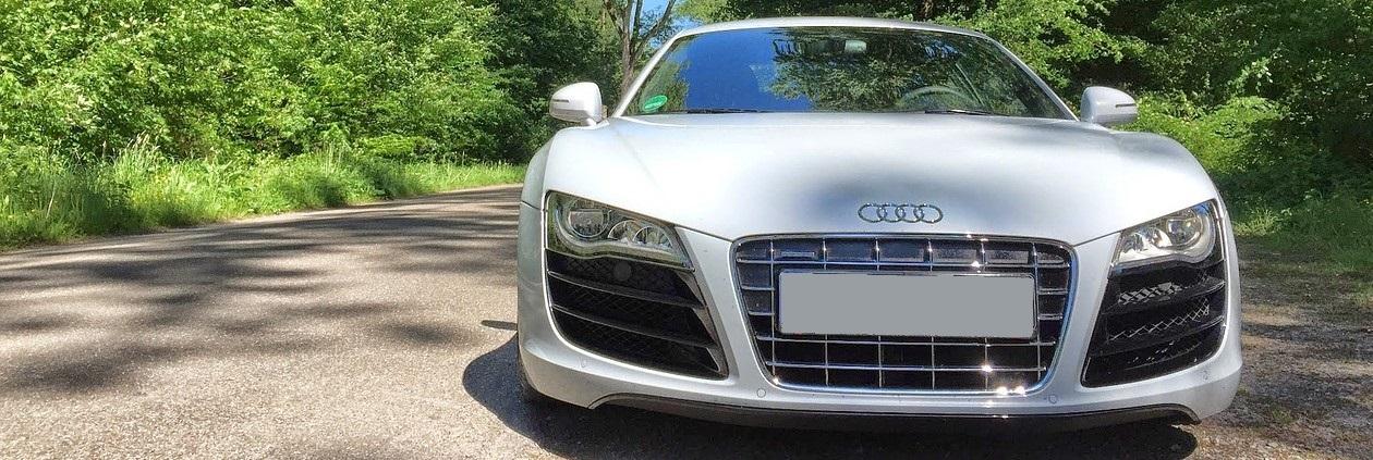 White Audi in Winston-Salem, North Carolina | Breast Cancer Car Donations