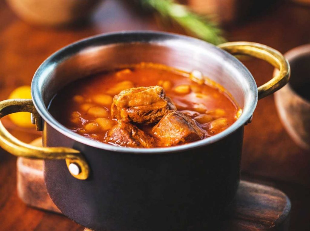 Served Beef Stew on the Table | Breast Cancer Car Donations