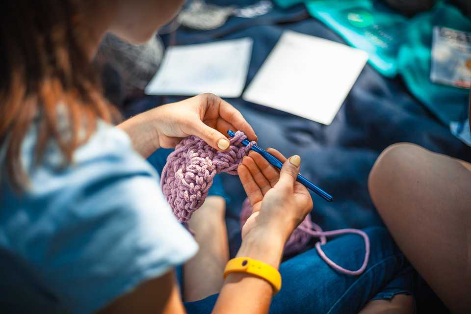 Woman Doing Needlework | Breast Cancer Car Donations