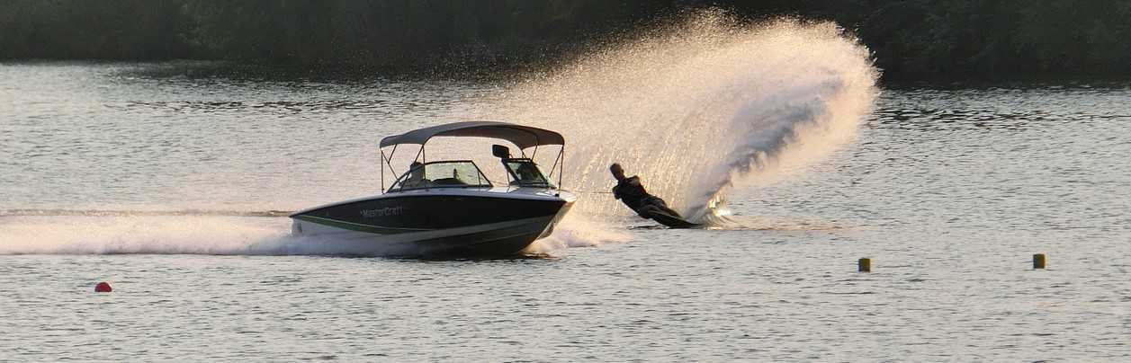 Ski Boat Used in Wakeboarding   Breast Cancer Car Donations