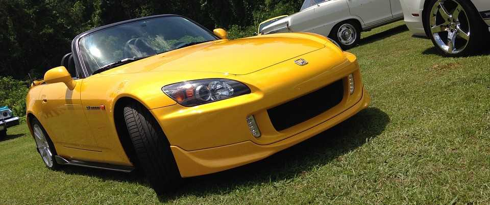 Yellow Convertible Car in Akron, Ohio | Breast Cancer Car Donations