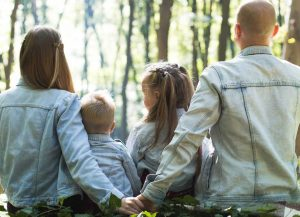 Family Spending Time with Nature | Breast Cancer Car Donations