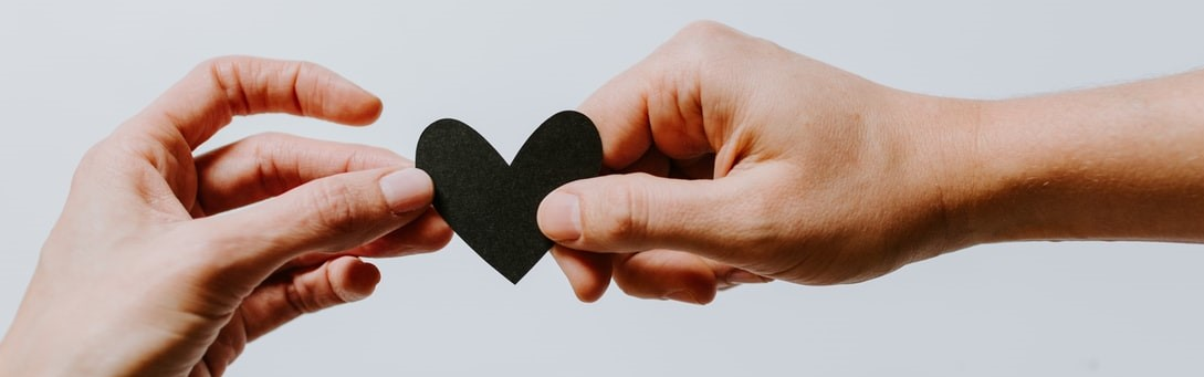 Giving a Black Paper Heart   Breast Cancer Car Donations