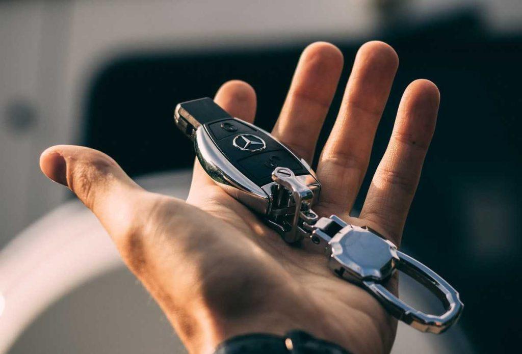 Mercedes Car Key | Breast Cancer Car Donations