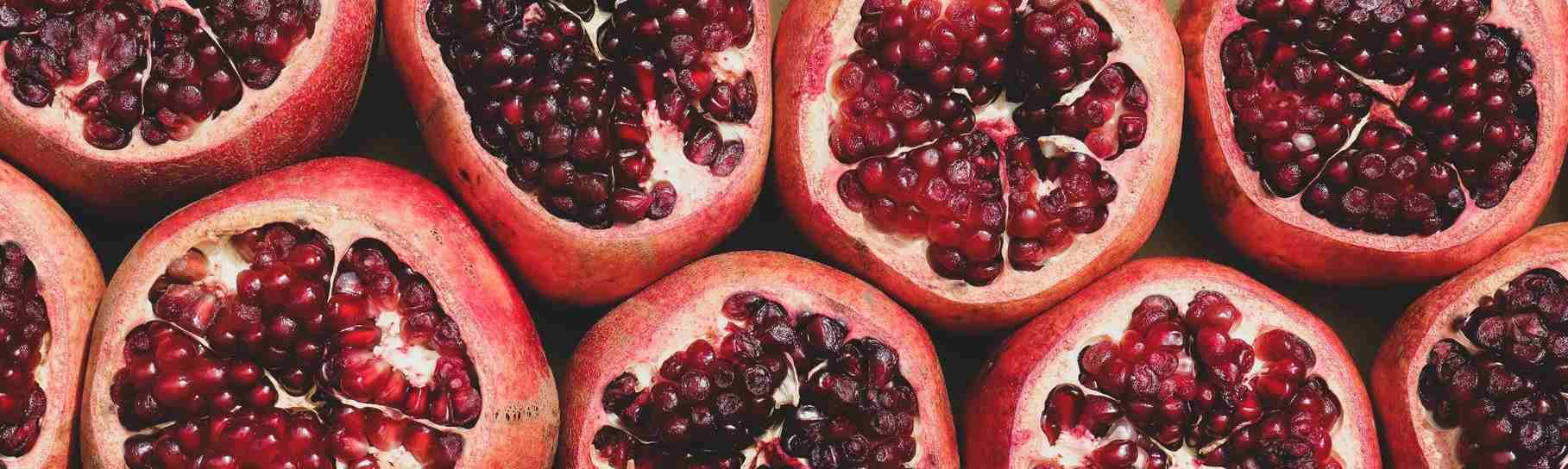 Fresh Pomegranates   Breast Cancer Car Donations