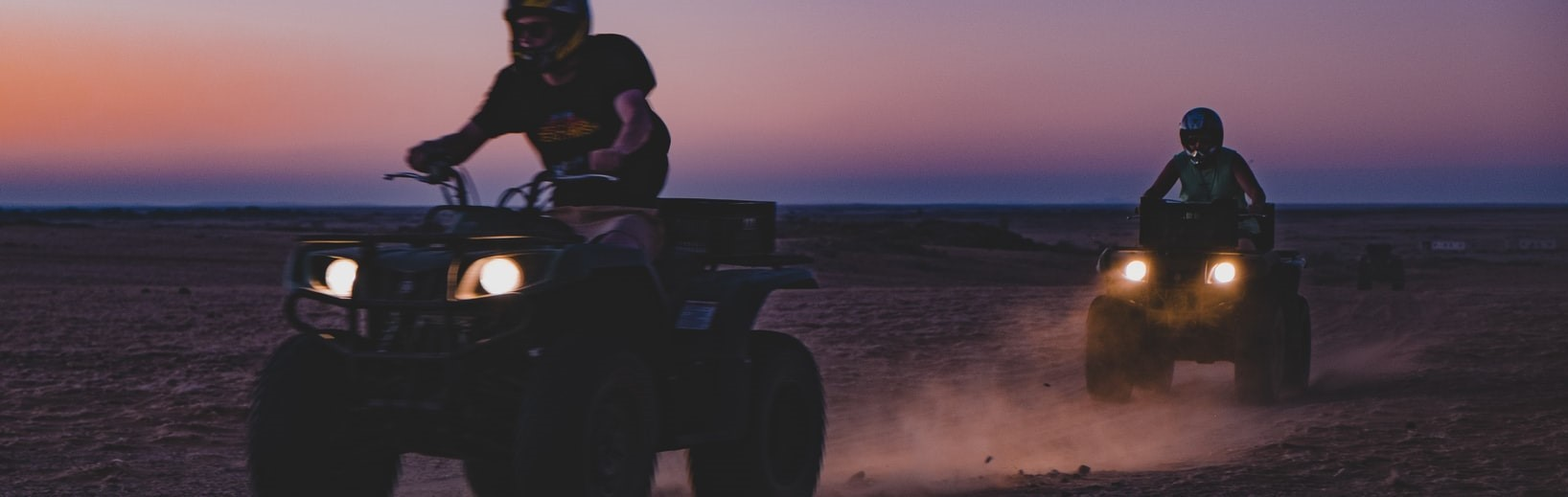 People Riding ATV | Breast Cancer Car Donations