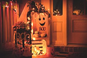 Halloween Decors at Home | Breast Cancer Car Donations