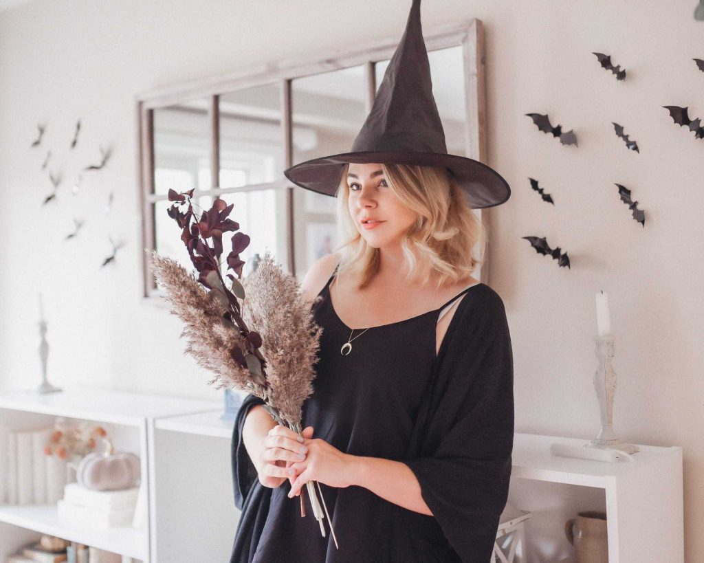 Witch Costume for Halloween | Breast Cancer Car Donations