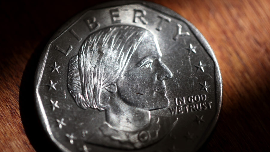 One Dollar Coin with Susan B. Anthony Face | Breast Cancer Car Donations