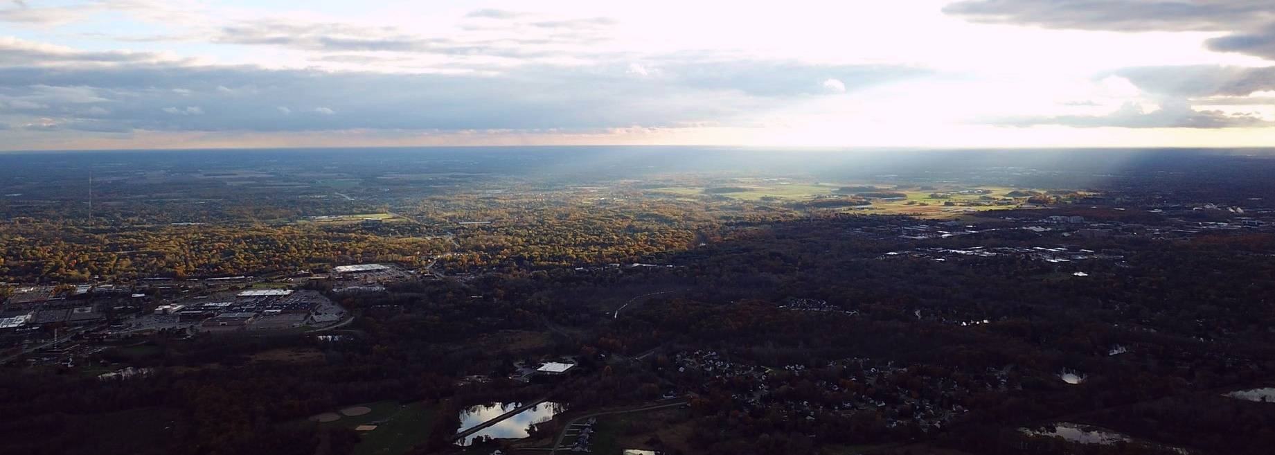 Overlooking Lansing, Michigan | Breast Cancer Car Donations