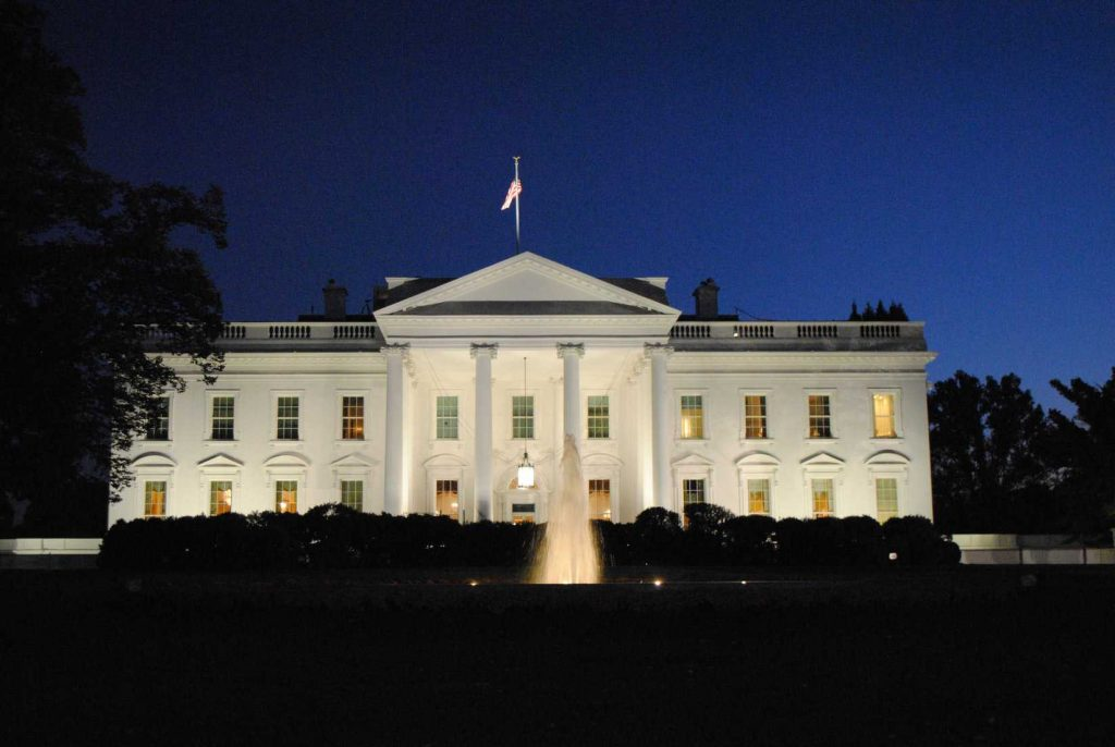 The White House in Washington DC | Breast Cancer Car Donations