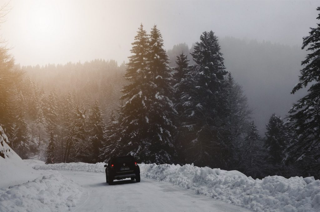 Traveling in the Middle of Snow | Breast Cancer Car Donations