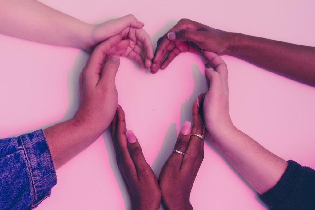 Hands Forming a Heart Symbol | Breast Cancer Car Donations