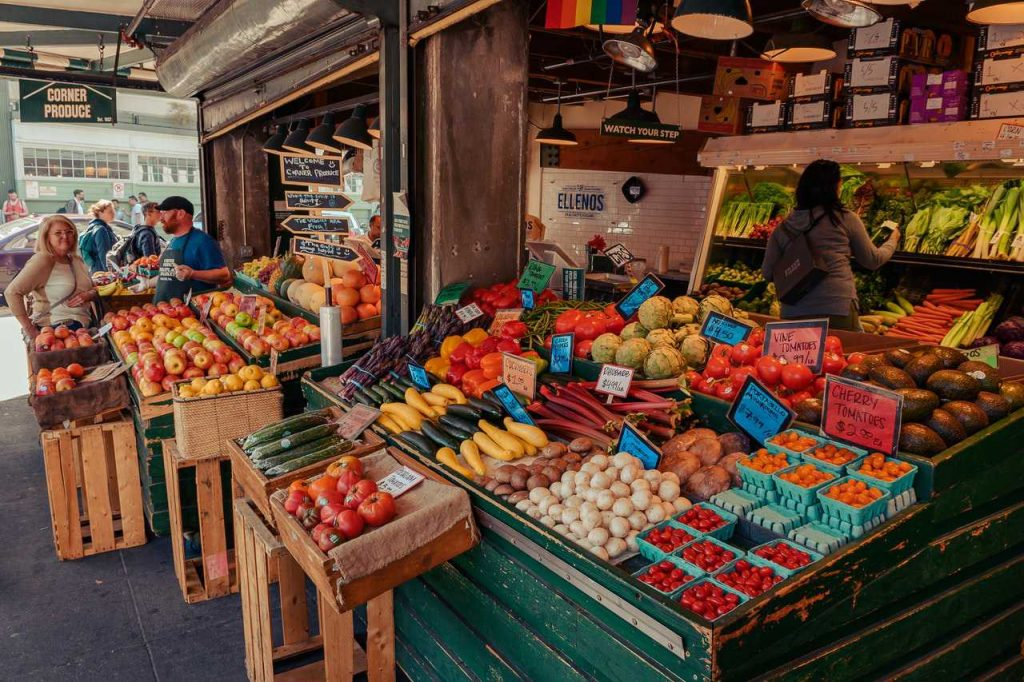 Fresh Fruits and Vegetables Stand | Breast Cancer Car Donations