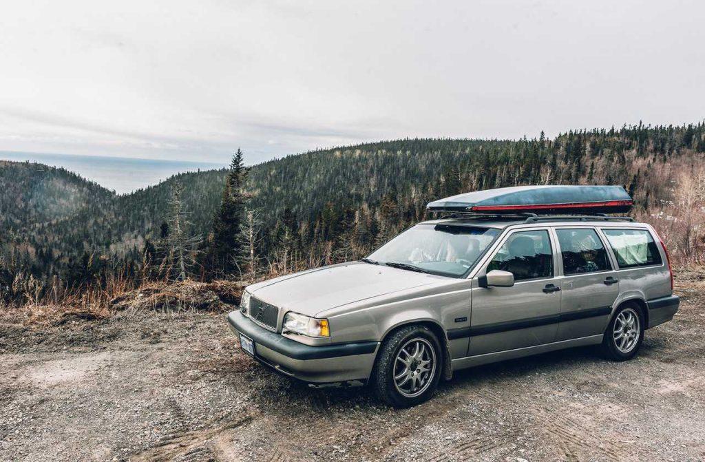 Silver Car on a Summer Trip | Breast Cancer Car Donations