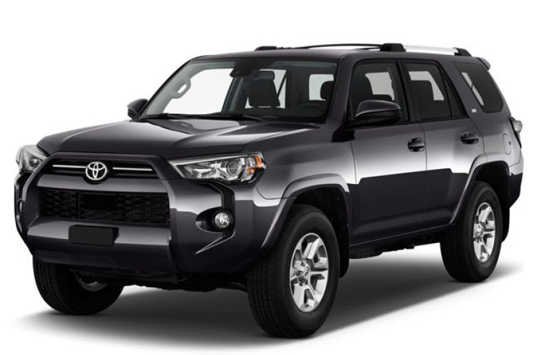 2021 Black Toyota 4Rrunner | Breast Cancer Car Donations