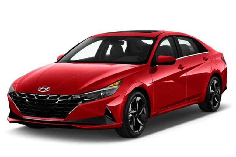 2021 Red Hyundai Elantra | Breast Cancer Car Donations
